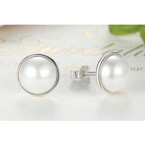 Cercei din argint Beauty Pearls
