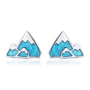 Cercei din argint Blue Iceberg