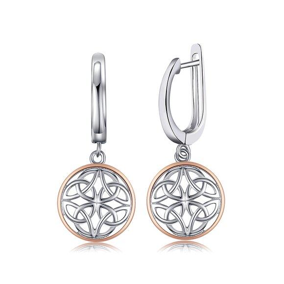 Cercei din argint Celtic Silver
