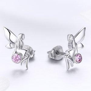 Cercei din argint Crystal Fairy
