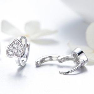 Cercei din argint Crystal Spades