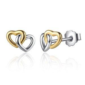 Cercei din argint cu Inimioare