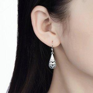 Cercei din argint cu Model Oriental