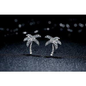 Cercei din argint cu Palmieri
