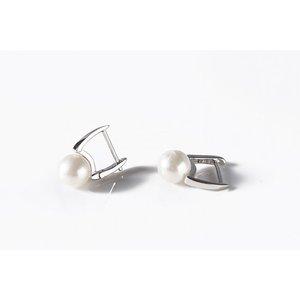 Cercei din argint cu Perle Sidefate