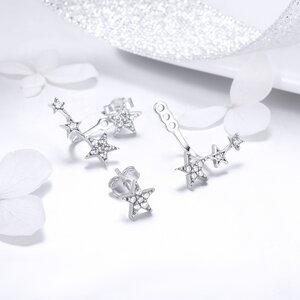 Cercei din argint cu Stelute Uimitoare