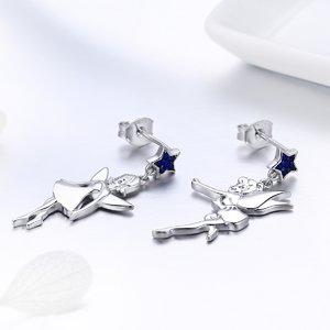 Cercei din argint Dancing Fairies