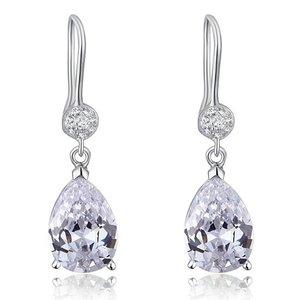 Cercei din argint Diamond Elegant