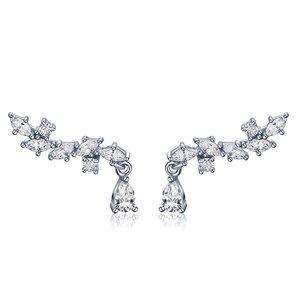 Cercei din argint Elegant Crystals Earrings