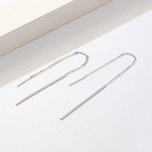 Cercei din argint Elegant Line Drop