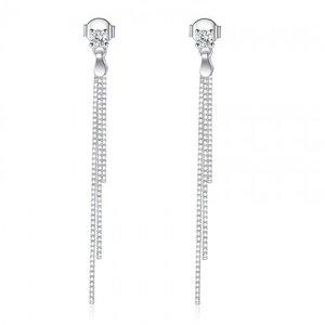 Cercei din argint Elegant Long Drop