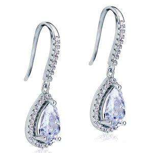 Cercei din argint Elegant Water Drops