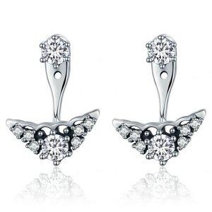 Cercei din argint Fashion Chic Stars