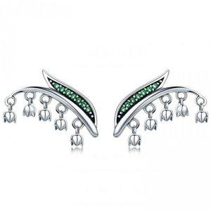 Cercei din argint Fashion Drop Bells