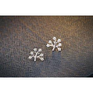 Cercei din argint Fashion Tree