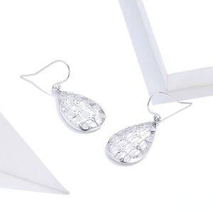 Cercei din argint Flowered Drops