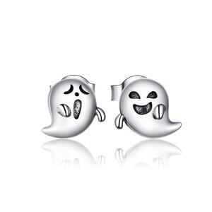 Cercei din argint Funny Ghosts