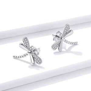 Cercei din argint Glamour Dragonflies