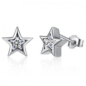 Cercei din argint Little Star