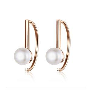 Cercei din argint Little Sweet Pearls