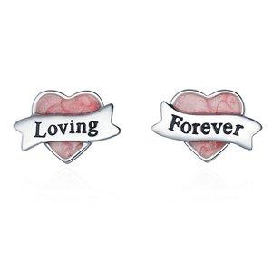 Cercei din argint Loving you Forever