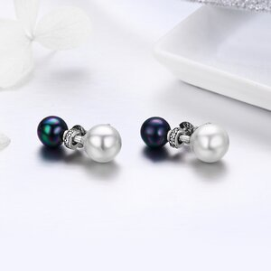 Cercei din argint Magical Pearls