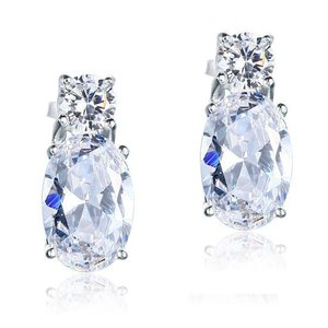 Cercei din argint Perfect Diamonds clear