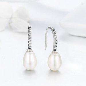 Cercei din argint Queen's Pearls