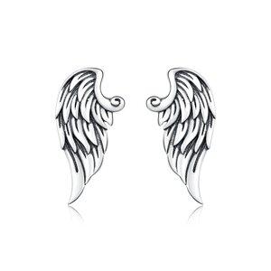 Cercei din argint Retro Wings