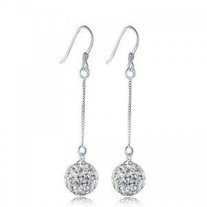 Cercei din argint Romantic Drops