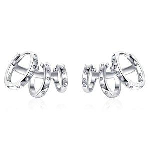Cercei din argint Silver Cuffs