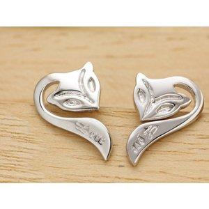 Cercei din argint Silver Fox