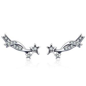 Cercei din argint Silver Perseids