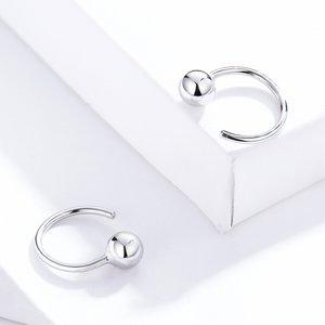Cercei din argint Silver Tiny Hoops