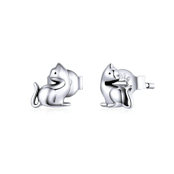 Cercei din argint Small Cats