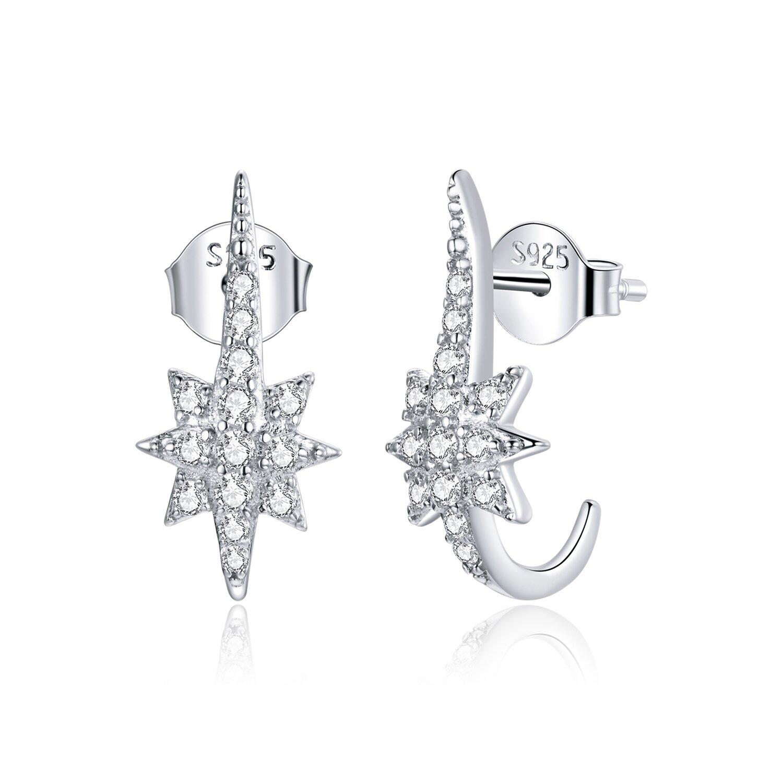 cercei din argint special stars 87763 4