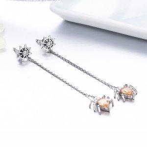 Cercei din argint Spider Drop