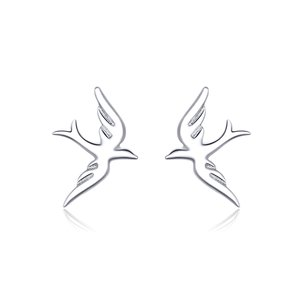 Cercei din argint Spring Little Birds