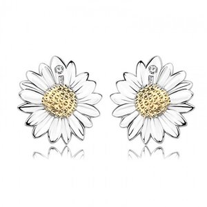 Cercei din argint Summer Flower