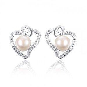Cercei din argint Summer Pearl