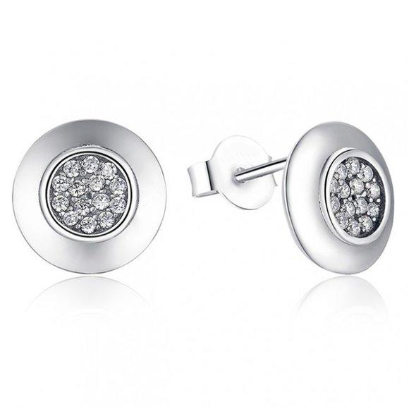 Cercei din argint Sweet Crystals