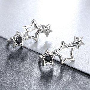 Cercei din argint Sweet Stars Trio