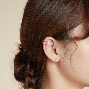 Cercel din argint Ear Clip Hoop
