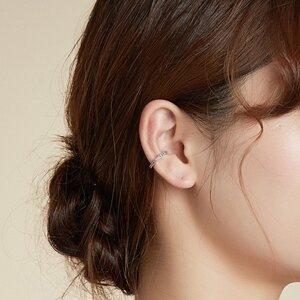 Cercel din argint Ear Clip Silver