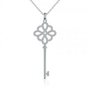Colier cu lantisor din argint Love Key