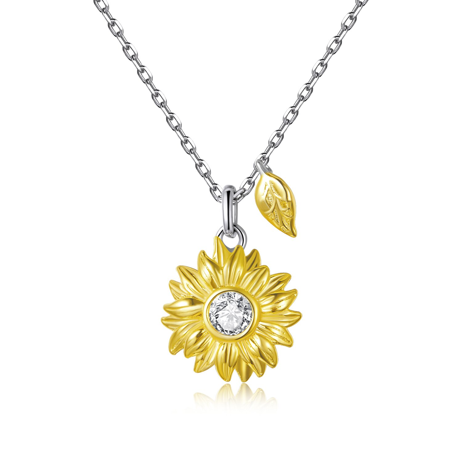 colier din argint amazing sunflower 88648 4