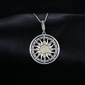 Colier din argint Celestial Sun