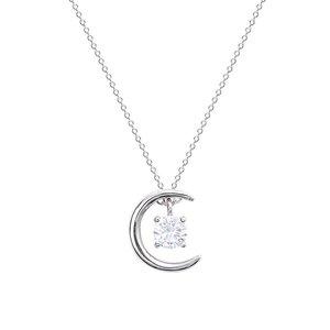 Colier din argint Cristalline Moon