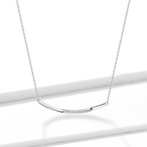 Colier din argint Crystal Twist
