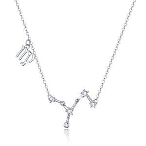Colier din argint cu Constelatia Fecioara silver